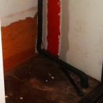 Another picture of the nasty floor in that old closet.