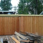 Richie rebuilt the entire front fence and sliding gate.