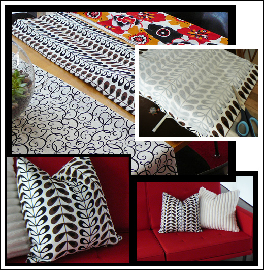 handmade envelope pillows