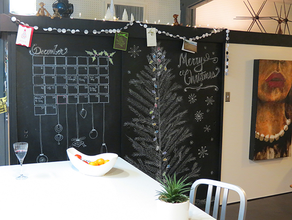 Chalk Board Christmas