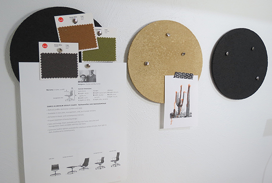 Cork Board Circles